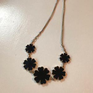 Flower Detail Statement Necklace